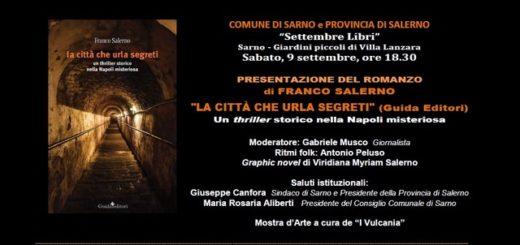 Invito a Sarno -romanzo di Franco Salerno