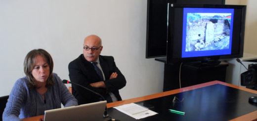 dott.ssa Granese e dott. Michele Faiella durante la conferenza stampa