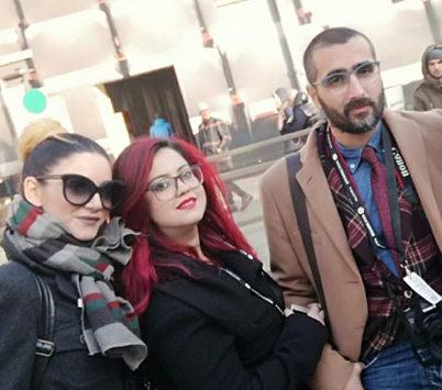 _Lo Staff da Sinistra Sara Sica, Flora Sabato e Carlo Giacomazza