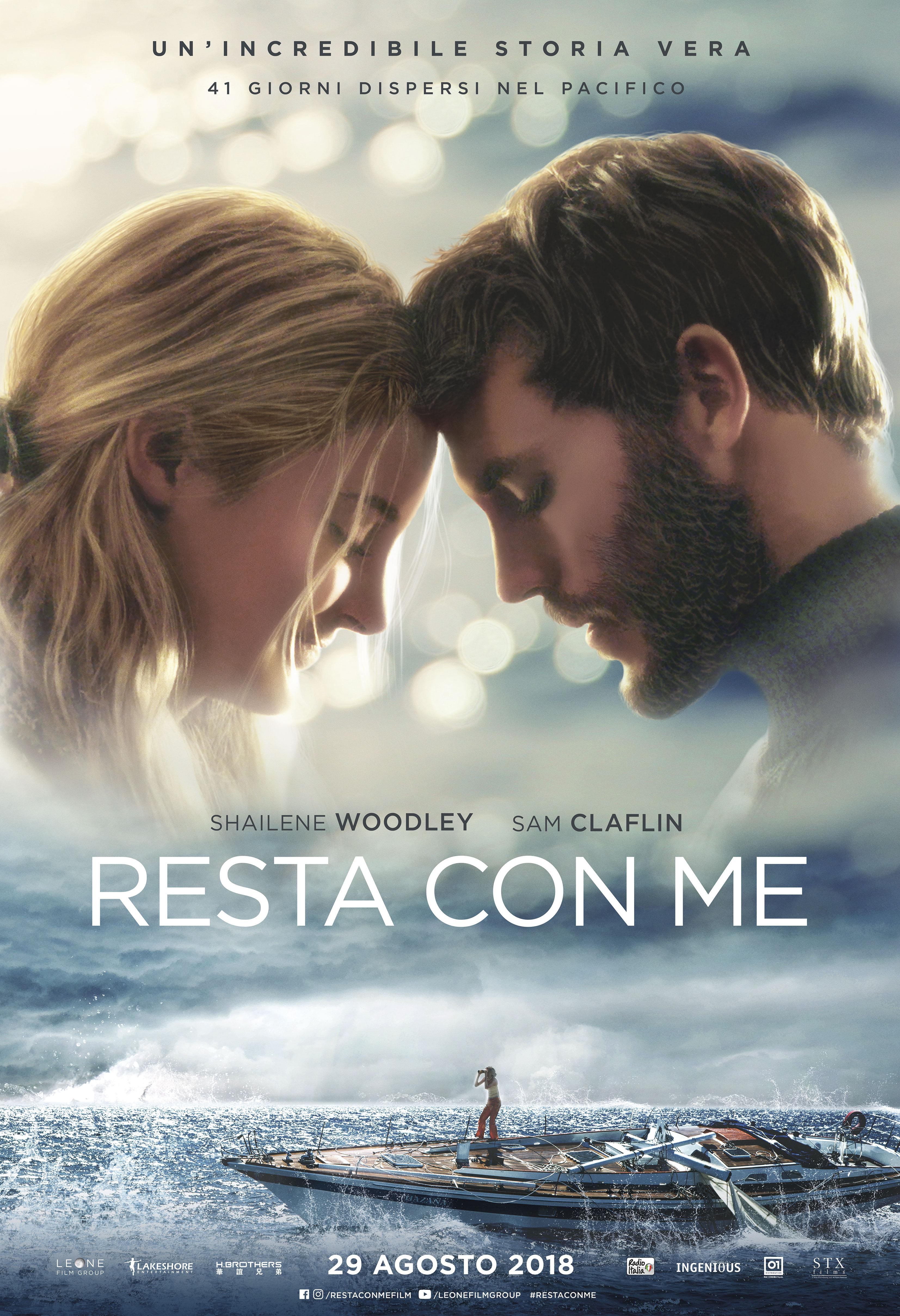 RESTA CON ME - Main Poster