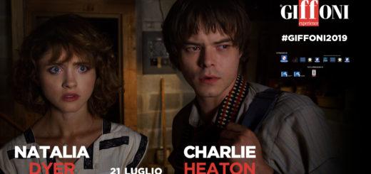 CHARLIE HEATON E NATALIA DYER A #GIFFONI2019