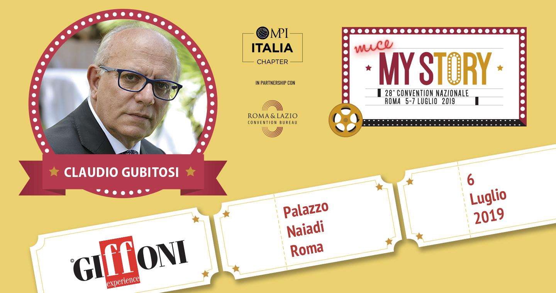 Claudio Gubitosi alla convention nazionale MY STORY - MPI ITALIA