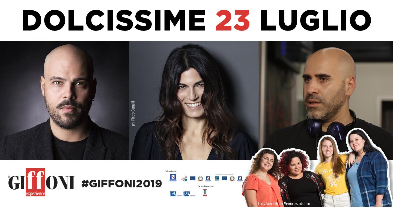 DOLCISSIME A #GIFFONI2019 IL 23 LUGLIO