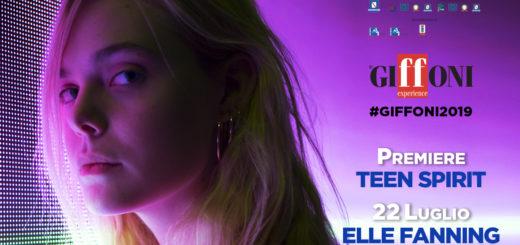 ELLE FANNING a #Giffoni2019 con TEEN SPIRIT