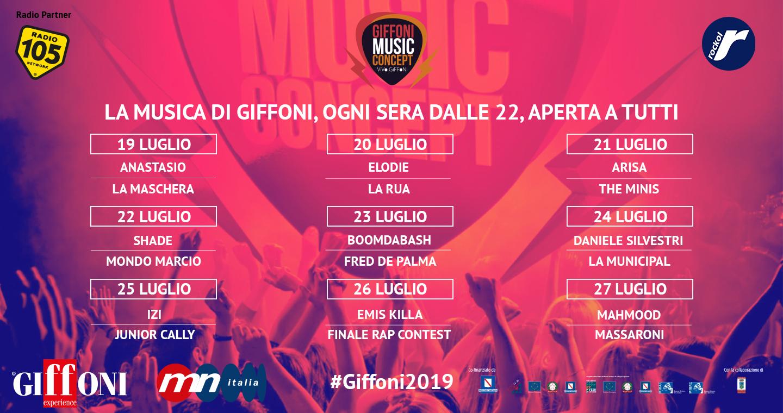GIFFONI MUSIC CONCEPT - VIVO GIFFONI 2019